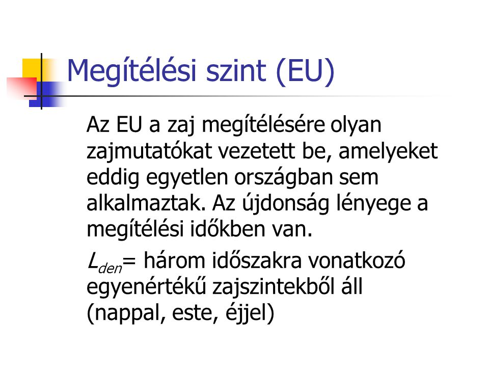 Megítélési szint (EU)