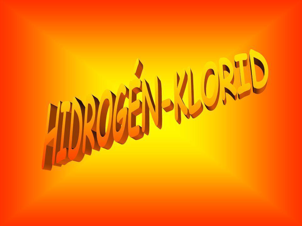 HIDROGÉN-KLORID