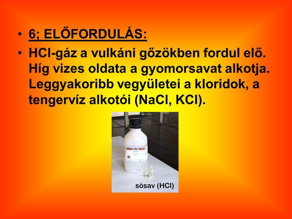 6; ELŐFORDULÁS: