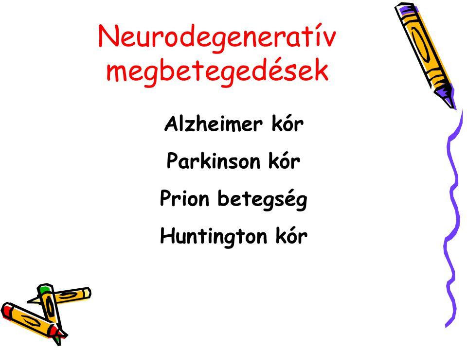 Neurodegeneratív megbetegedések
