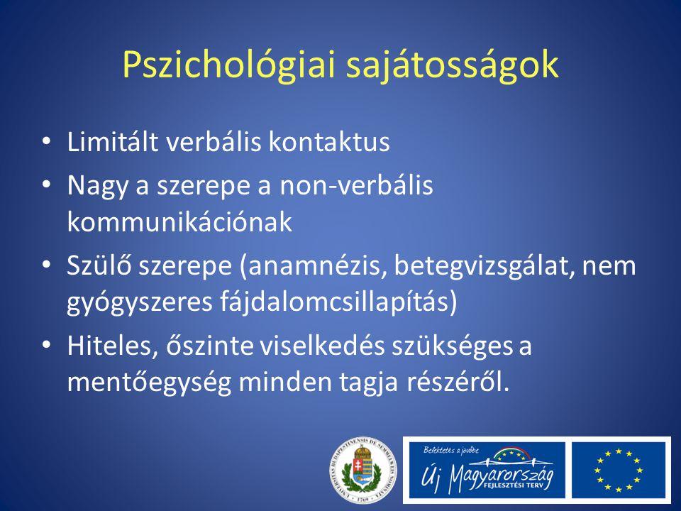 Pszichológiai sajátosságok