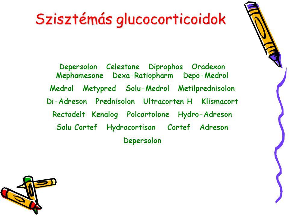 Szisztémás glucocorticoidok
