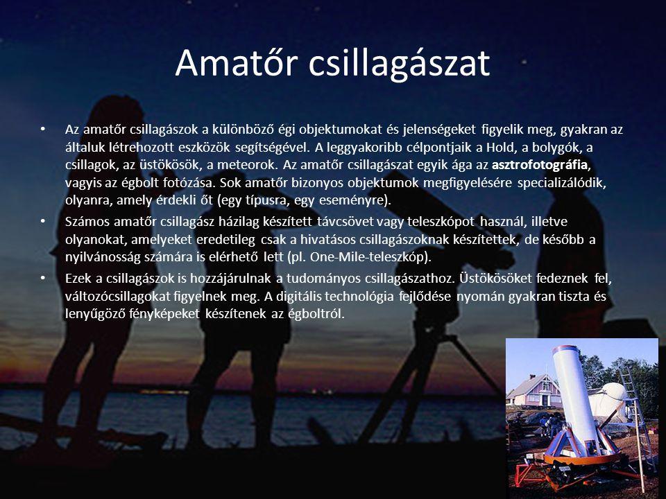 Amatőr csillagászat