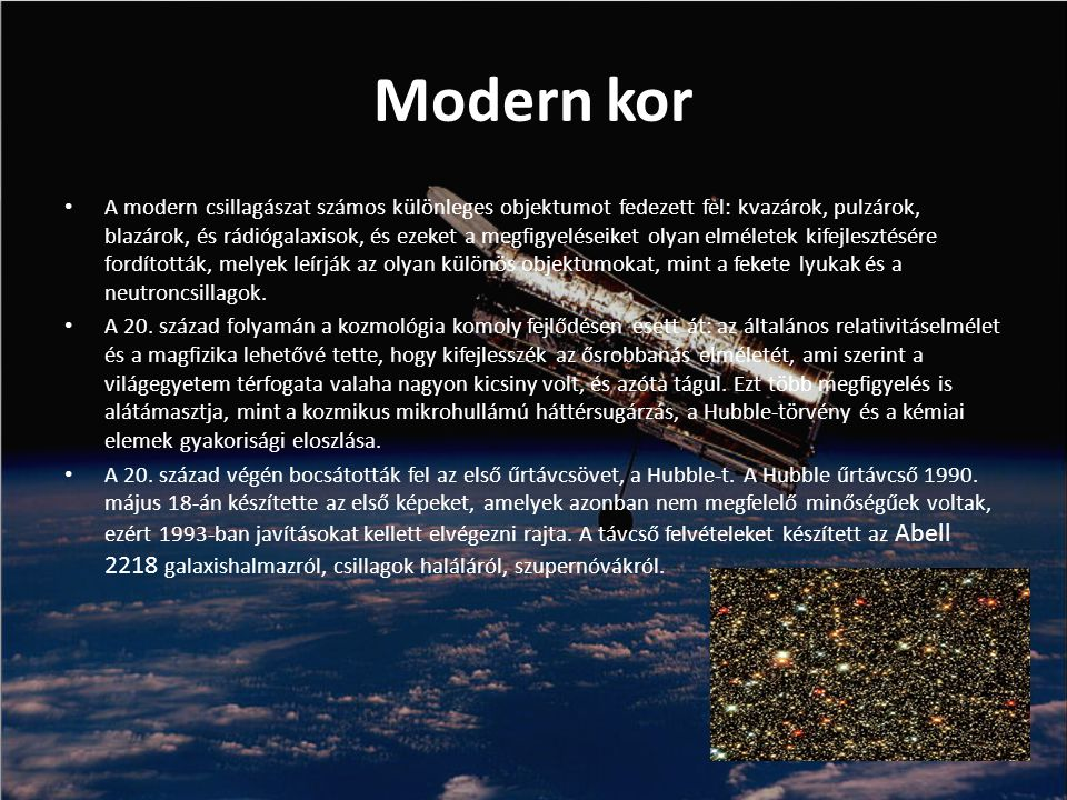 Modern kor