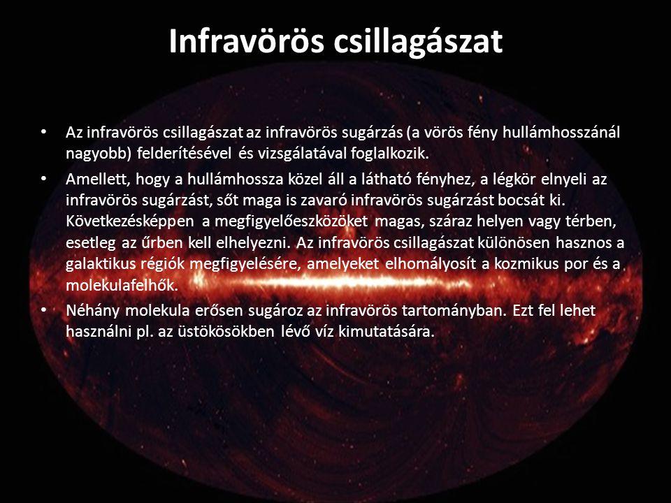 Infravörös csillagászat