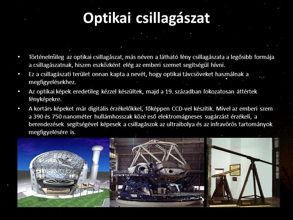 Optikai csillagászat