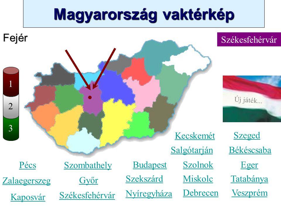 Fejér Székesfehérvár 1 2 3 Kecskemét Szeged Salgótarján Békéscsaba