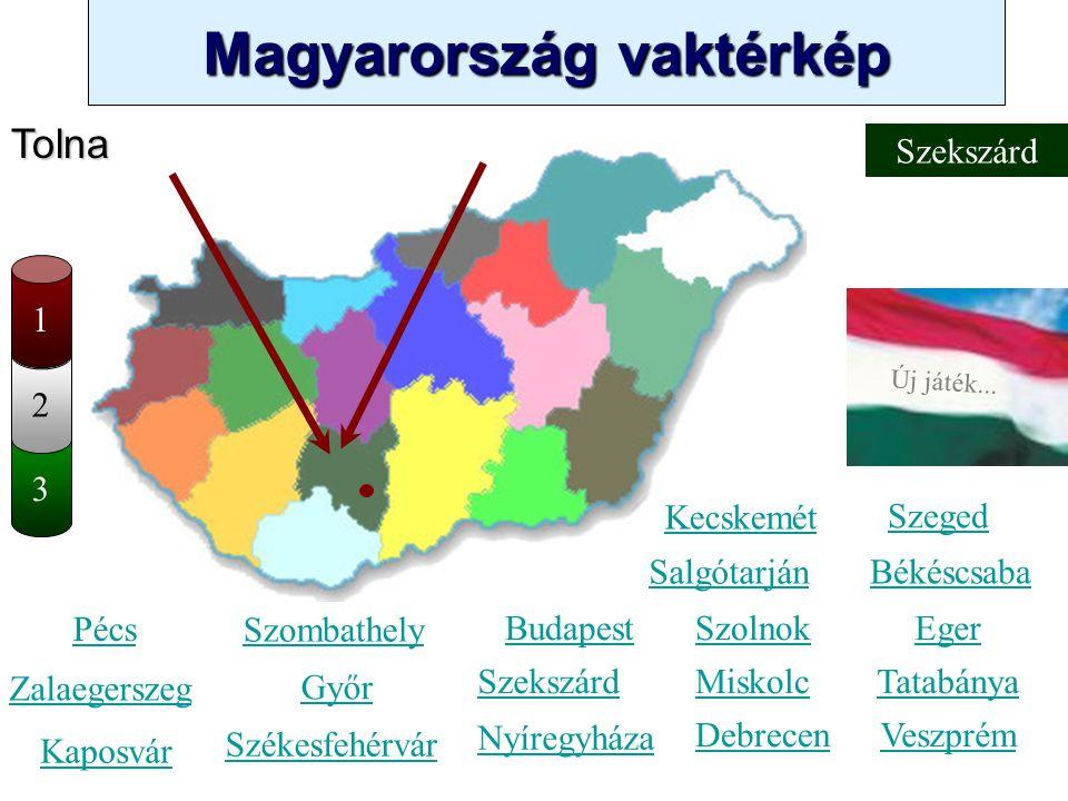 Tolna Szekszárd 1 2 3 Kecskemét Szeged Salgótarján Békéscsaba Pécs