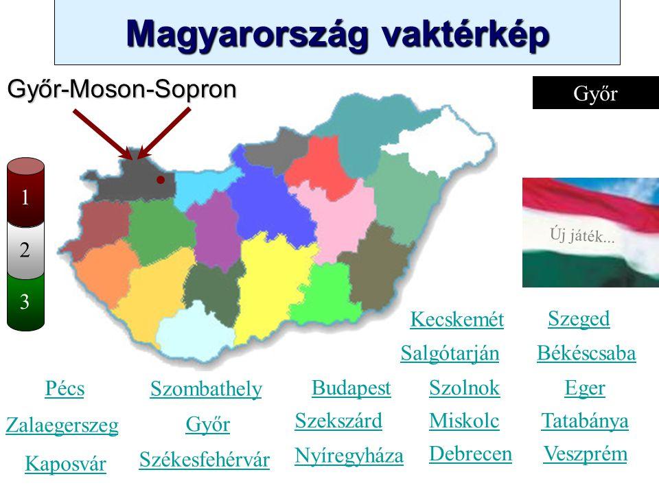 Győr-Moson-Sopron Győr 1 2 3 Kecskemét Szeged Salgótarján Békéscsaba