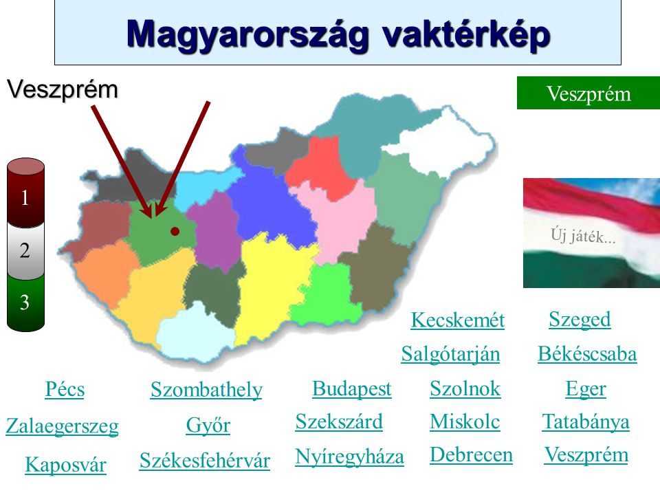 Veszprém Veszprém 1 2 3 Kecskemét Szeged Salgótarján Békéscsaba Pécs