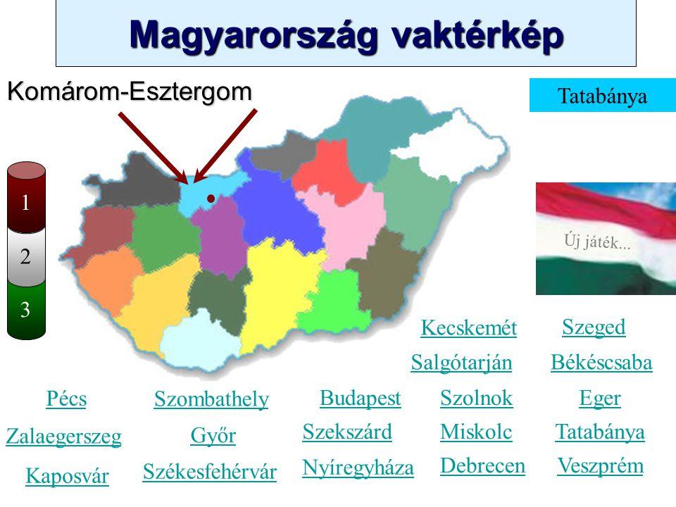 Komárom-Esztergom Tatabánya 1 2 3 Kecskemét Szeged Salgótarján