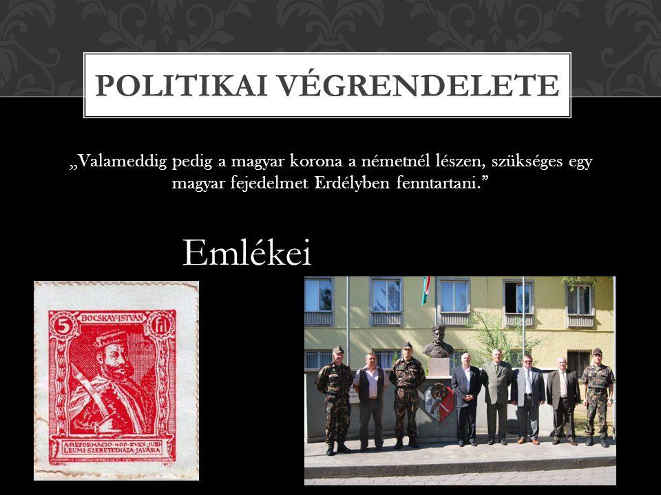 Politikai végrendelete