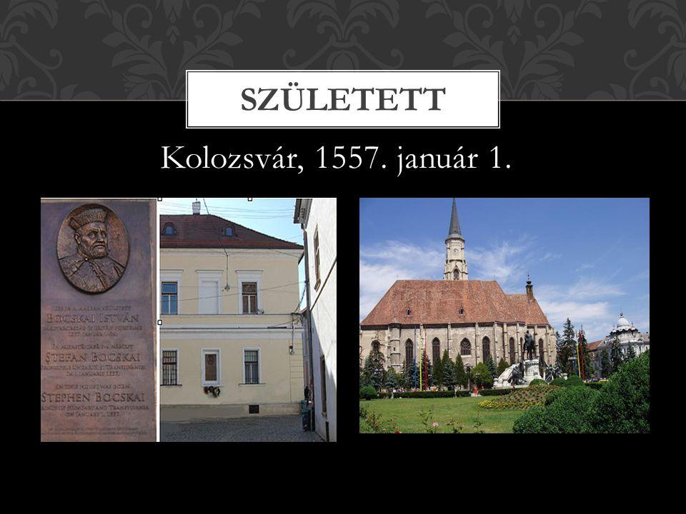Született Kolozsvár, 1557. január 1.