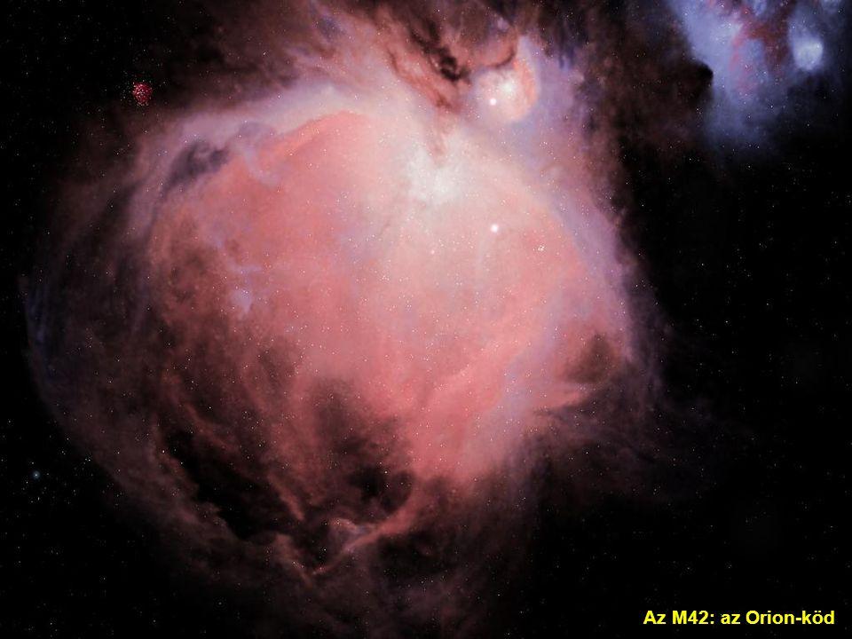 Az M42: az Orion-köd