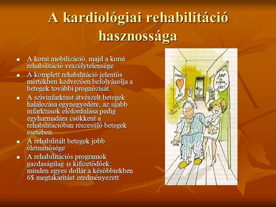 A kardiológiai rehabilitáció hasznossága