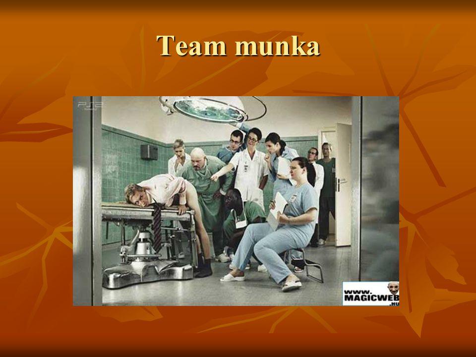Team munka