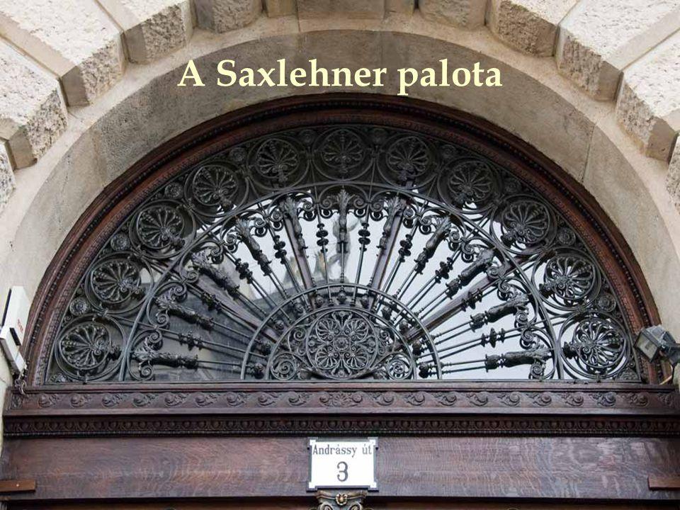 A Saxlehner palota