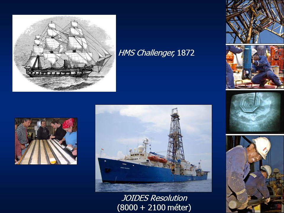 JOIDES Resolution (8000 + 2100 méter)