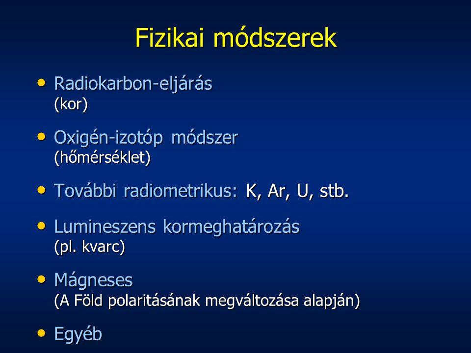 Fizikai módszerek Radiokarbon-eljárás (kor)