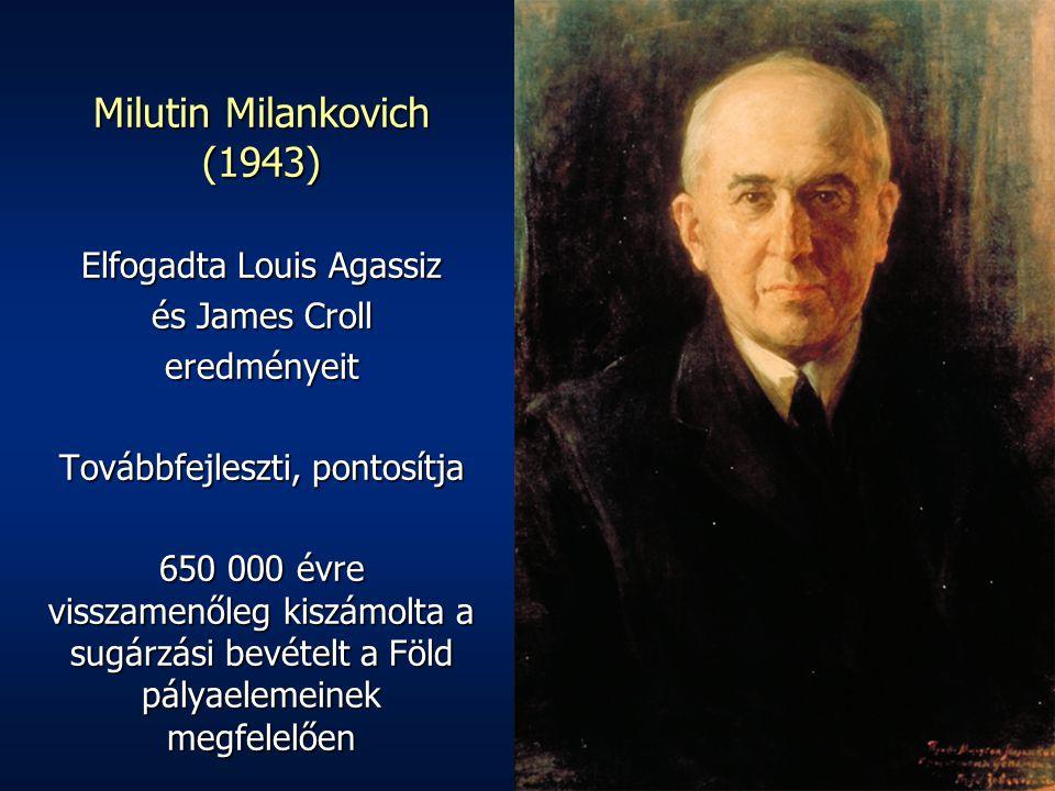 Milutin Milankovich (1943)