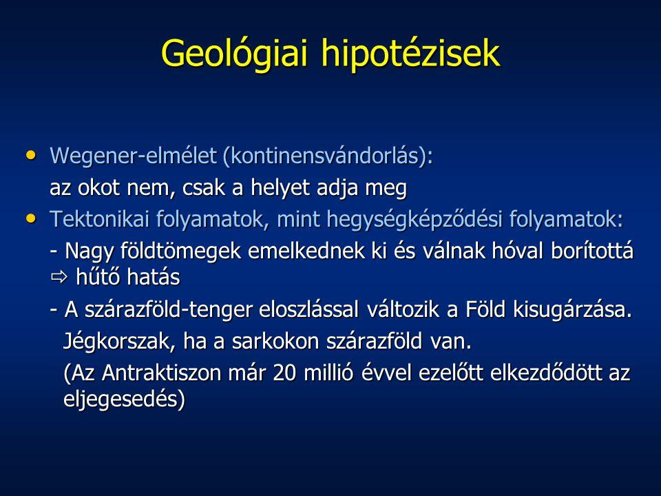 Geológiai hipotézisek