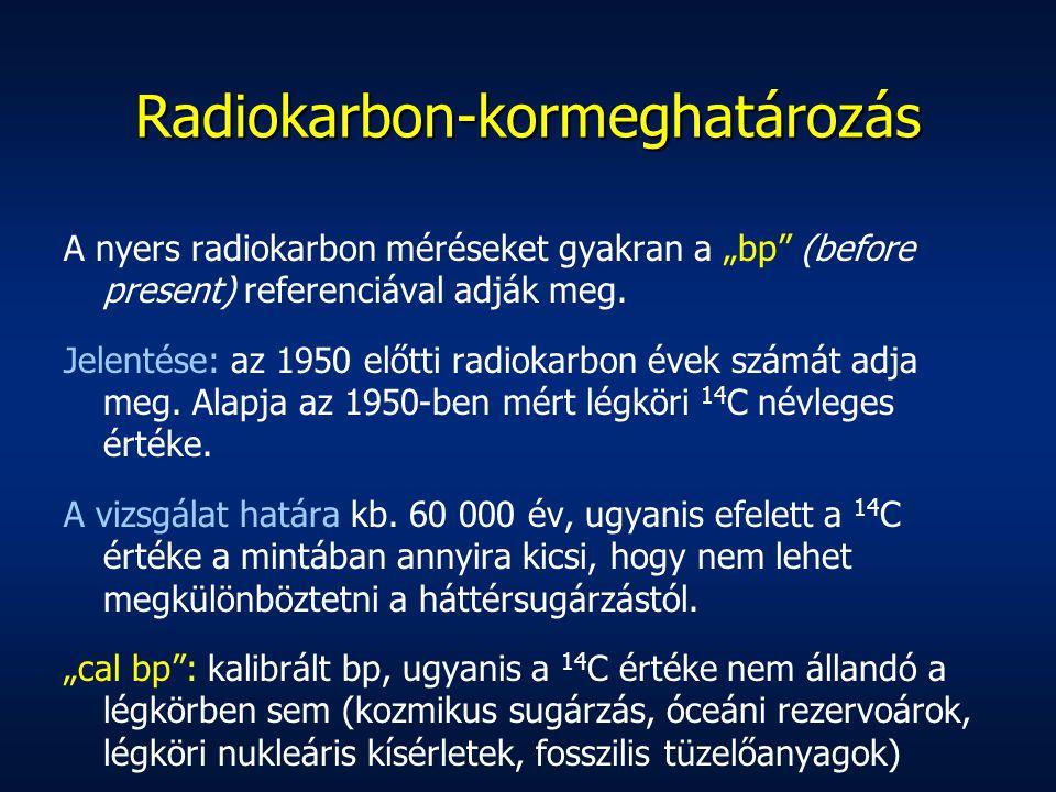 Radiokarbon-kormeghatározás