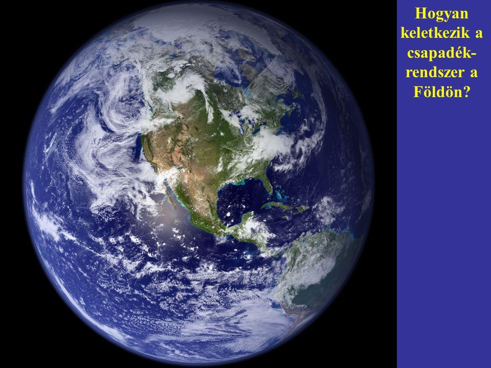 Hogyan keletkezik a csapadék-rendszer a Földön