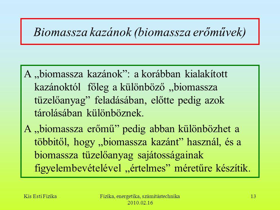 Biomassza kazánok (biomassza erőművek)