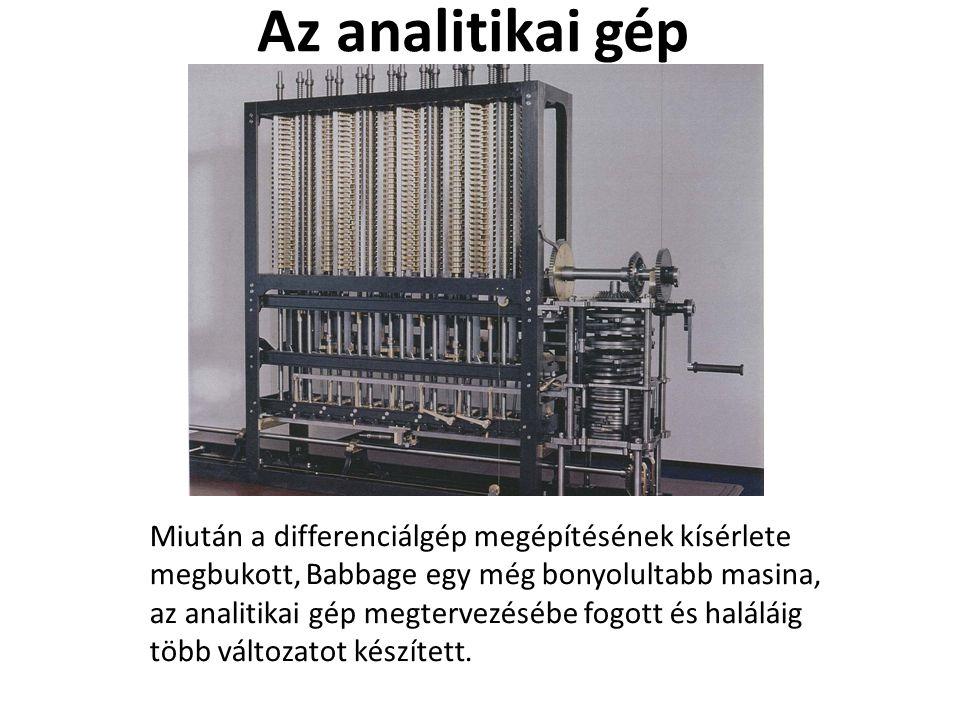 Az analitikai gép