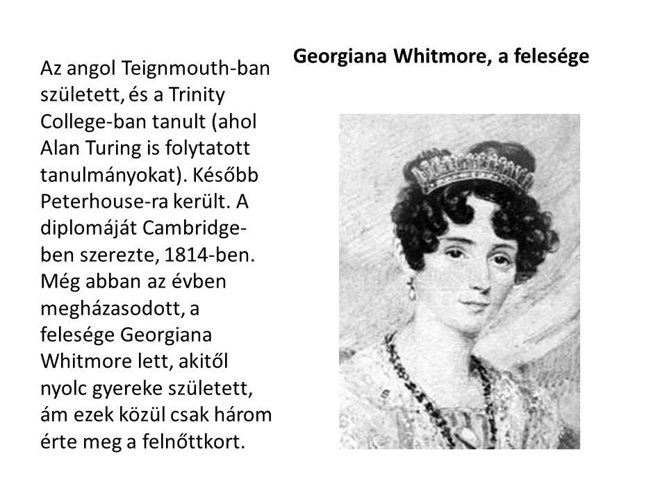 Georgiana Whitmore, a felesége