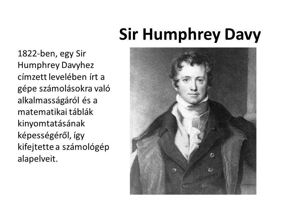 Sir Humphrey Davy