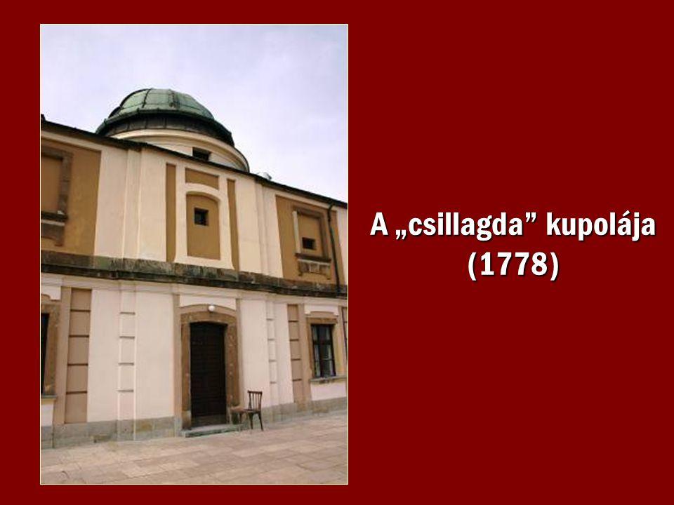 """A """"csillagda kupolája (1778)"""