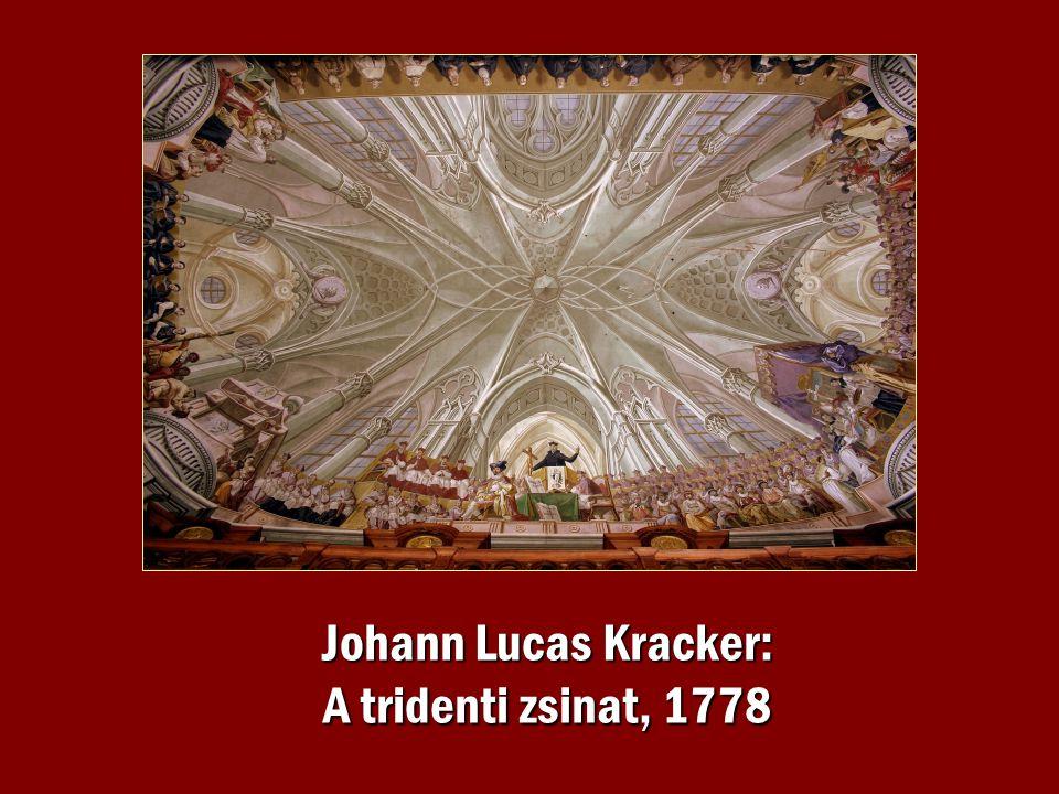 Johann Lucas Kracker: A tridenti zsinat, 1778