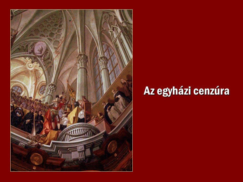 Az egyházi cenzúra