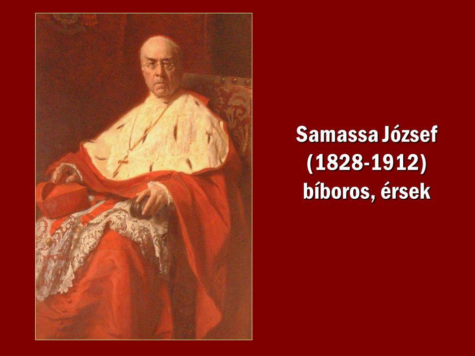 Samassa József (1828-1912) bíboros, érsek