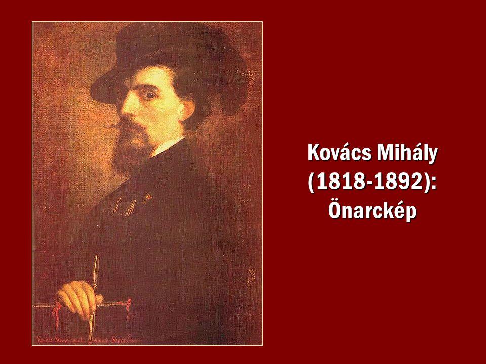 Kovács Mihály (1818-1892): Önarckép