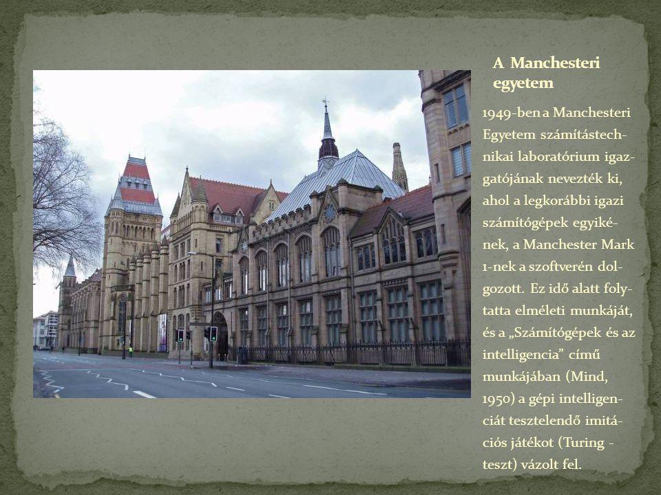 A Manchesteri egyetem