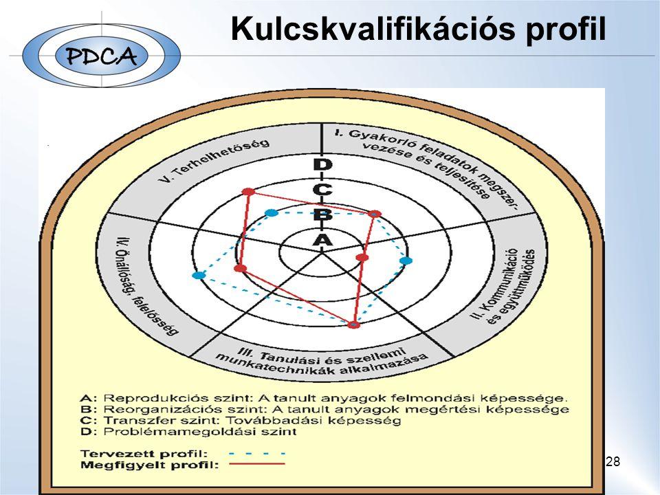Kulcskvalifikációs profil