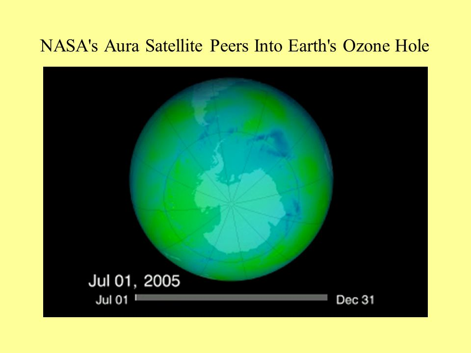 NASA s Aura Satellite Peers Into Earth s Ozone Hole