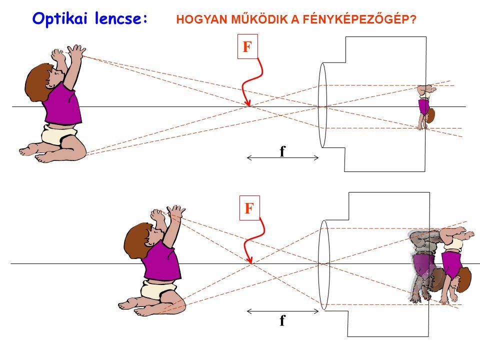 Optikai lencse: HOGYAN MŰKÖDIK A FÉNYKÉPEZŐGÉP