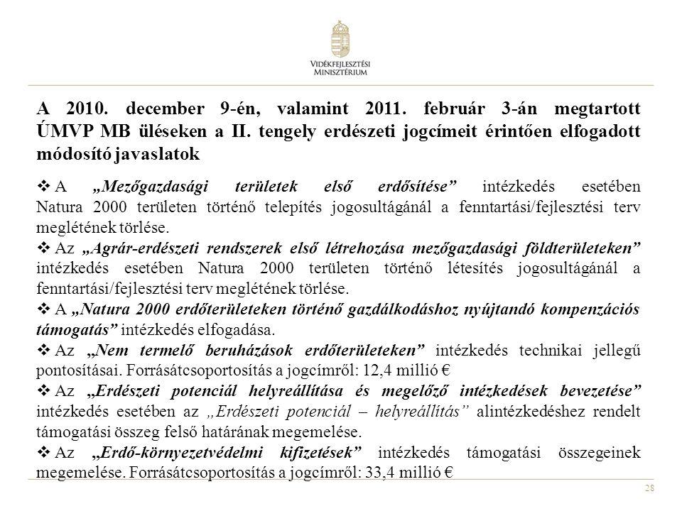 A 2010. december 9-én, valamint 2011