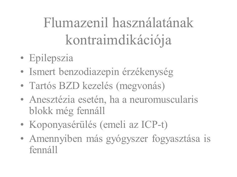 Flumazenil használatának kontraimdikációja