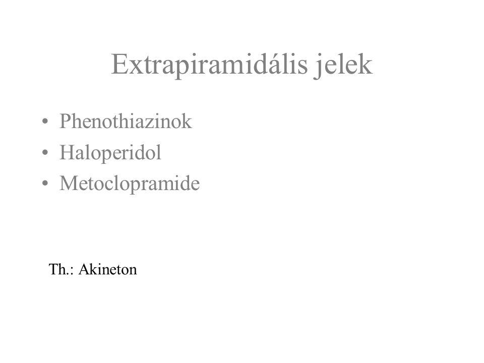 Extrapiramidális jelek