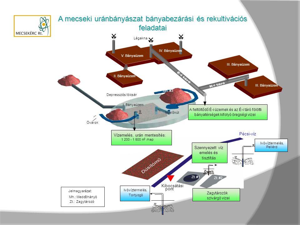 A mecseki uránbányászat bányabezárási és rekultivációs feladatai