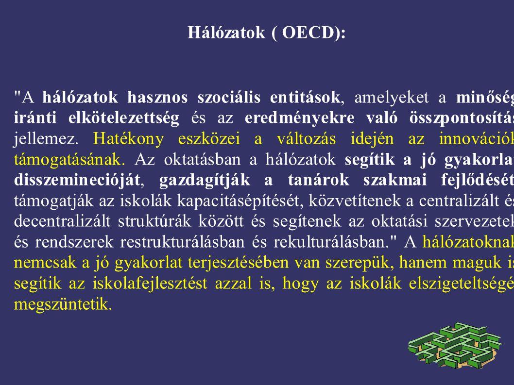 Hálózatok ( OECD):