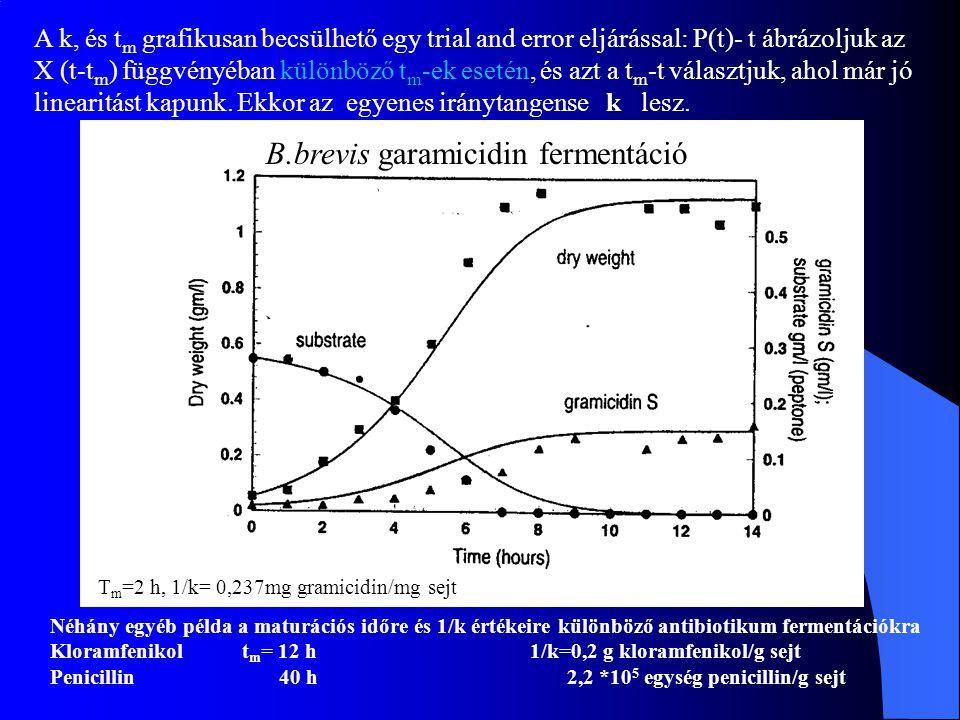 B.brevis garamicidin fermentáció