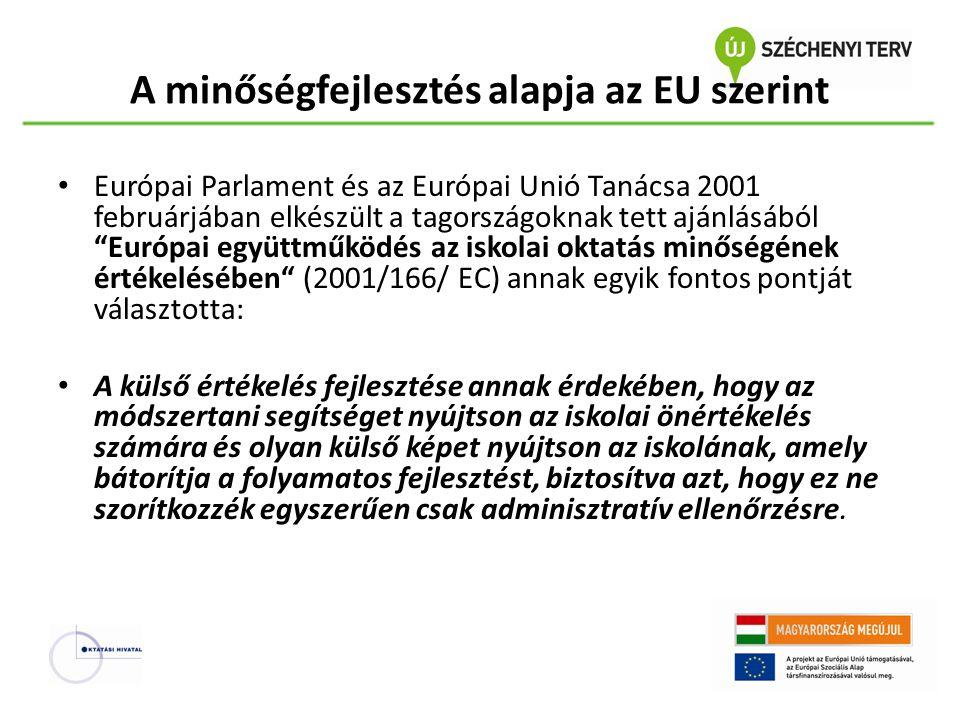 A minőségfejlesztés alapja az EU szerint
