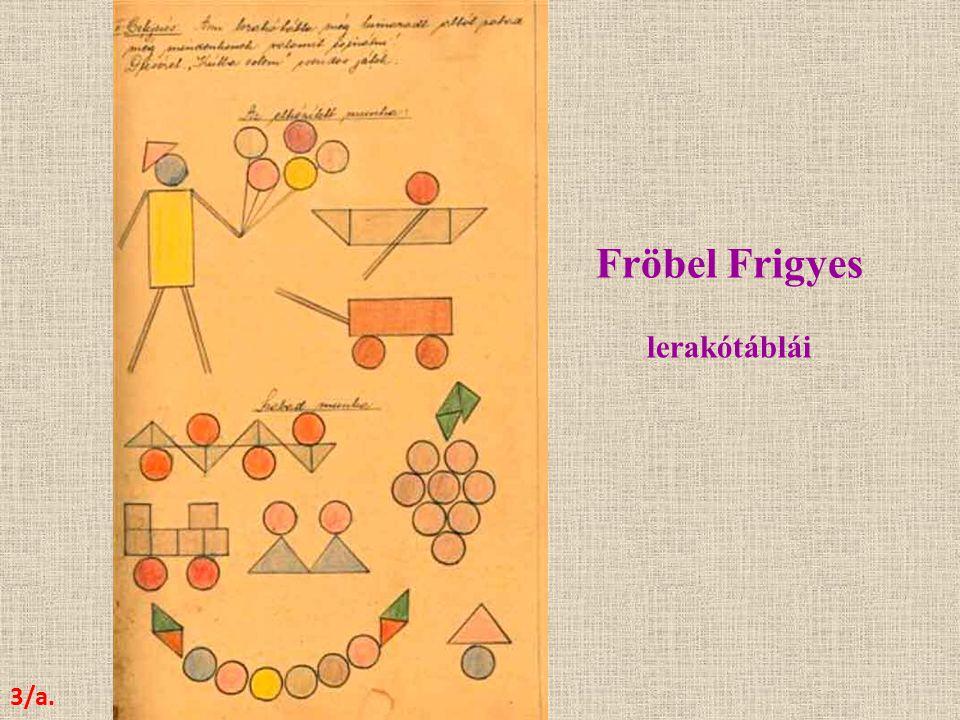 Fröbel Frigyes lerakótáblái 3/a.