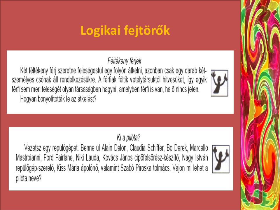 Logikai fejtörők