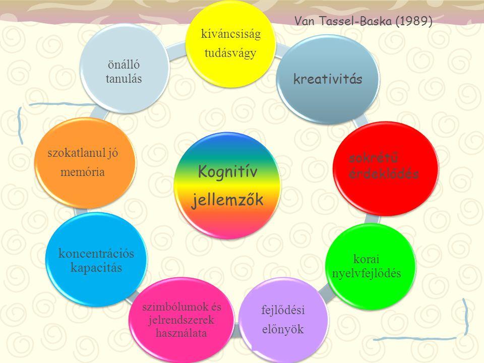 Kognitív jellemzők kreativitás sokrétű érdeklődés